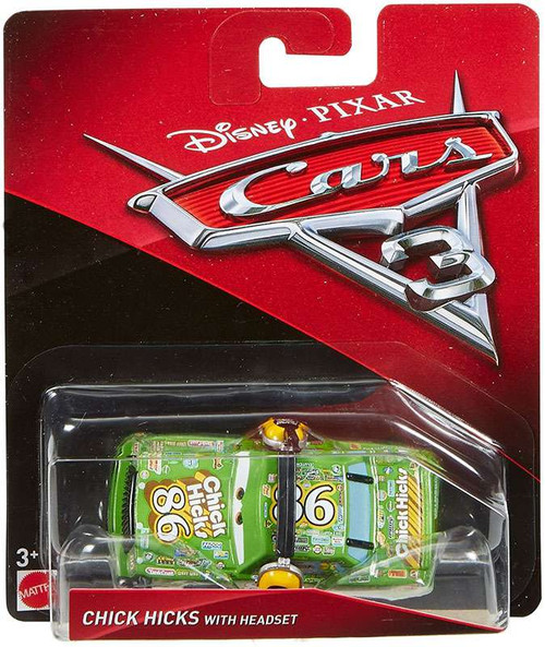 Disney / Pixar Cars Cars 3 Chick Hicks with Headset Diecast Car