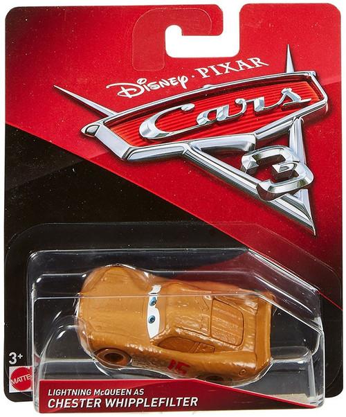 Disney / Pixar Cars Cars 3 Lightning McQueen as Chester Whipplefilter Diecast Car