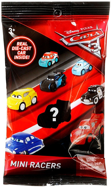 Disney Cars 3 Die Cast Mini Racers Series 1 Mystery Pack