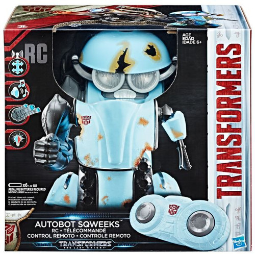 Transformers The Last Knight RC Autobot Sqweeks Action Figure