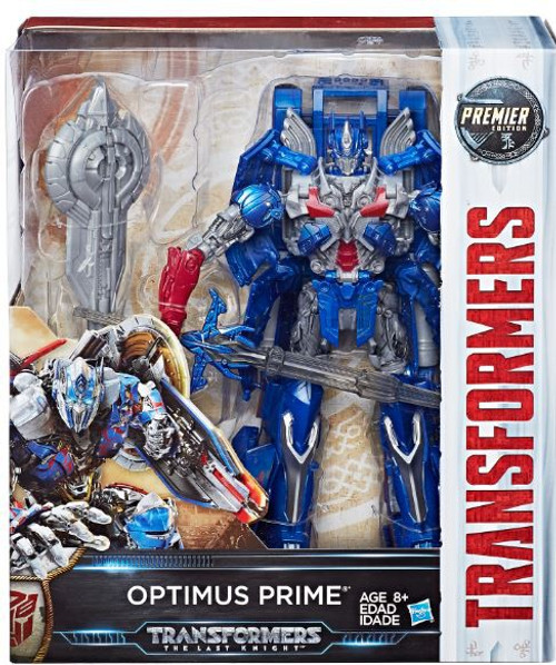 Transformers The Last Knight Leader Class Optimus Prime Action Figure