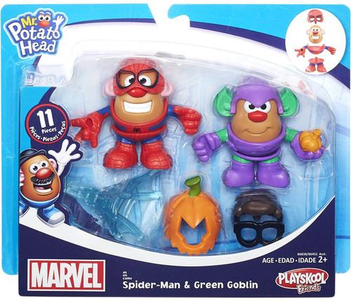 Marvel Playskool Friends Spider-Man & Green Goblin Mr. Potato Head