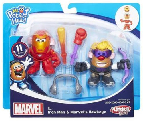 Playskool Friends Iron Man & Marvel's Hawkeye Mr. Potato Head