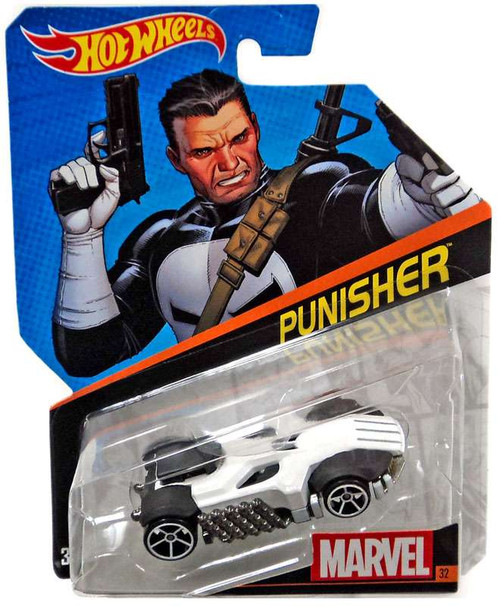 Hot Wheels Marvel Punisher Diecast Car