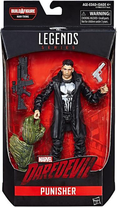 Marvel Knights Marvel Legends Man-Thing Series Punisher Action Figure