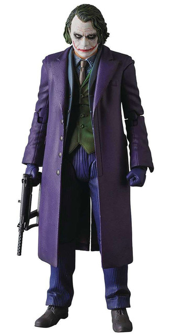 DC The Dark Knight MAFEX The Joker Action Figure [Version 2.0]