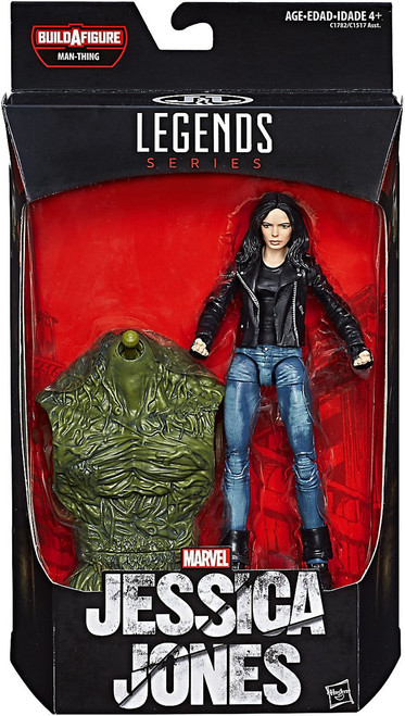Marvel Knights Marvel Legends Man-Thing Series Jessica Jones Action Figure