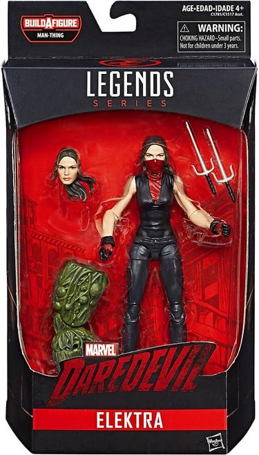 Marvel Knights Marvel Legends Man-Thing Series Elektra Action Figure
