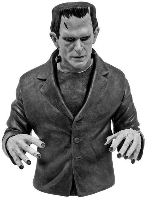 Universal Monsters Frankenstein Vinyl Bust Bank [Black & White]