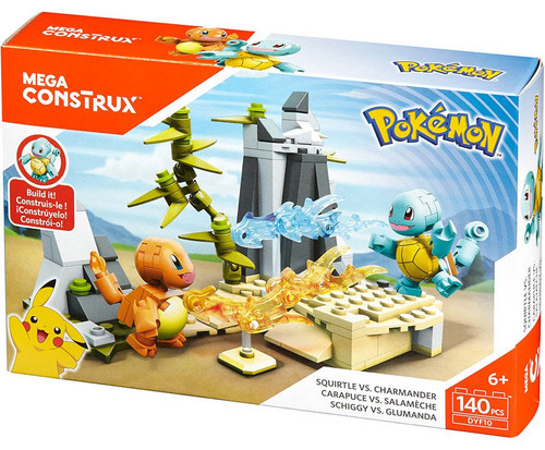 Pokémon Squirtle vs Charmander Set