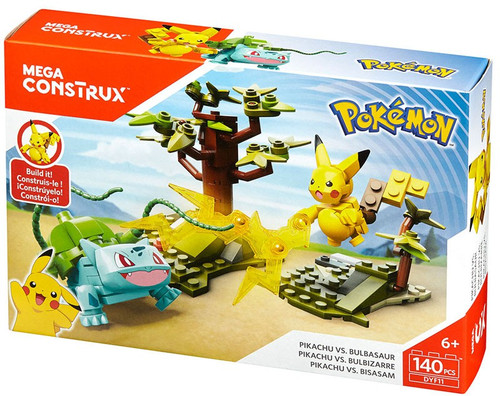 Pokémon Pikachu vs Bulbasaur Set