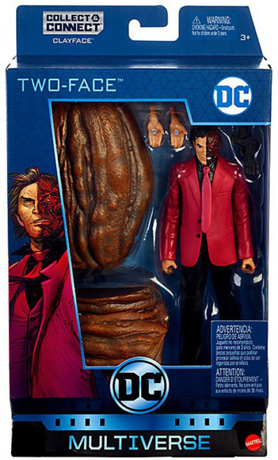 DC Multiverse Clayface Series Two-Face Action Figure [Rebirth]