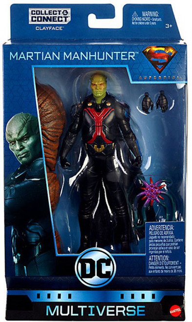 DC Multiverse Clayface Series Martian Manhunter Action Figure [Supergirl TV Show]