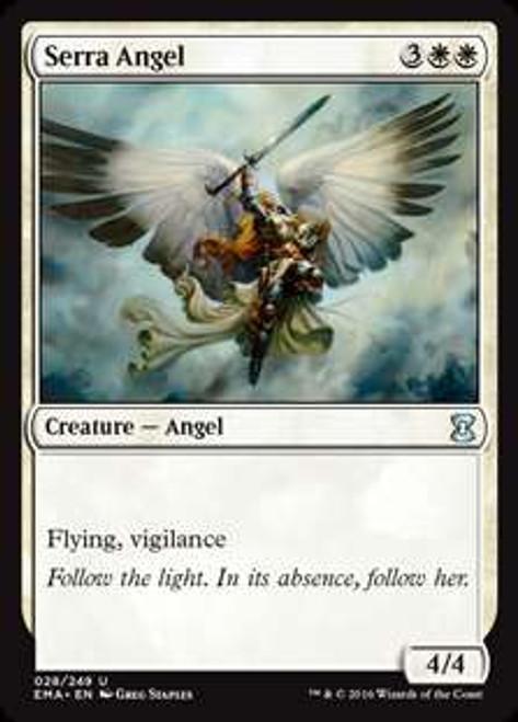 MtG Eternal Masters Uncommon Foil Serra Angel #28