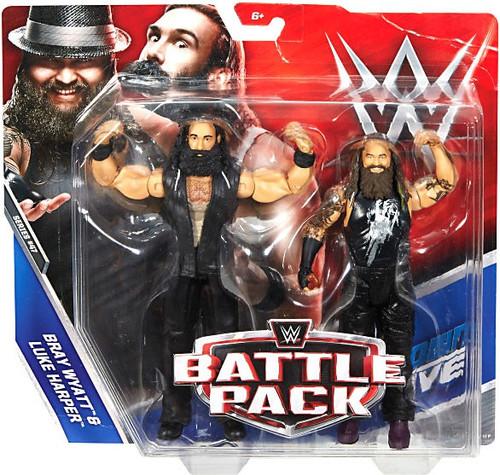 WWE Wrestling Battle Pack Series 47 Bray Wyatt & Luke Harper Action Figure 2-Pack