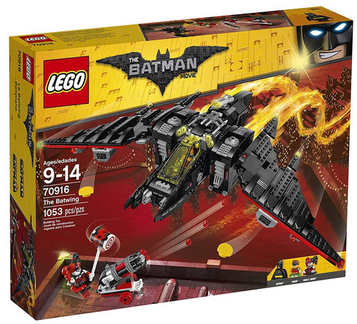 LEGO DC The Batman Movie The Batwing Set #70916