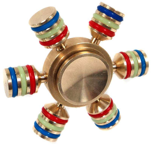 Hand Spinner Six Way Metal Spinner