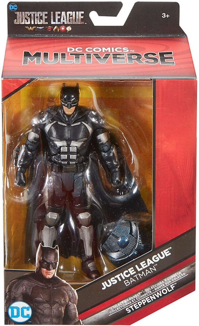 DC Justice League Movie Multiverse Steppenwolf Series Batman Action Figure