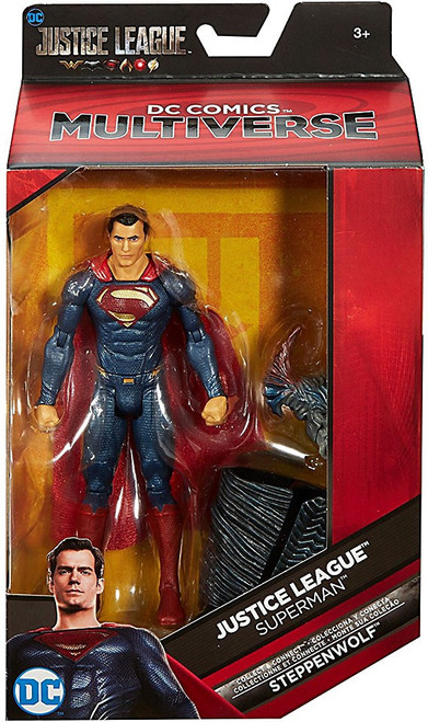 DC Justice League Movie Multiverse Steppenwolf Series Superman Action Figure [Movie]