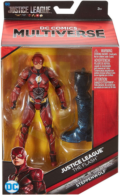 DC Justice League Movie Multiverse Steppenwolf Series Flash Action Figure