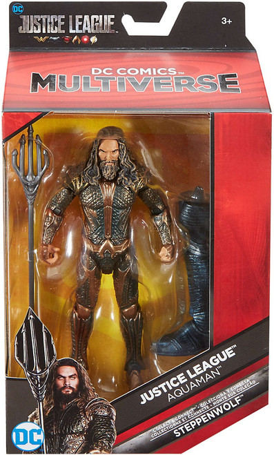 DC Justice League Movie Multiverse Steppenwolf Series Aquaman Action Figure