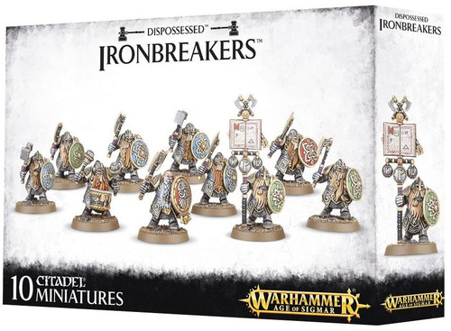 Warhammer Age of Sigmar Grand Alliance Order Dispossessed Ironbreakers