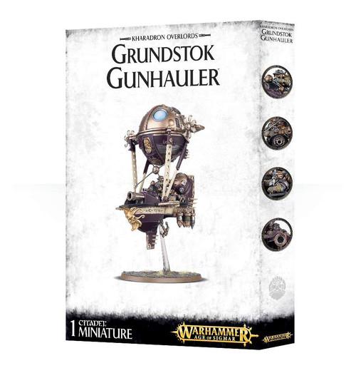Warhammer Age of Sigmar Grand Alliance Order Kharadron Overlords Grundstok Gunhauler