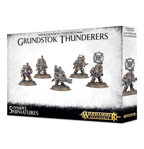 Warhammer Age of Sigmar Grand Alliance Order Kharadron Overlords Grundstok Thunderers