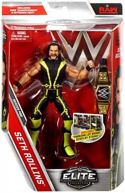 WWE Wrestling Elite Collection Series 52 Seth Rollins Action Figure [WWE Championship Belt & Entrance Vest]