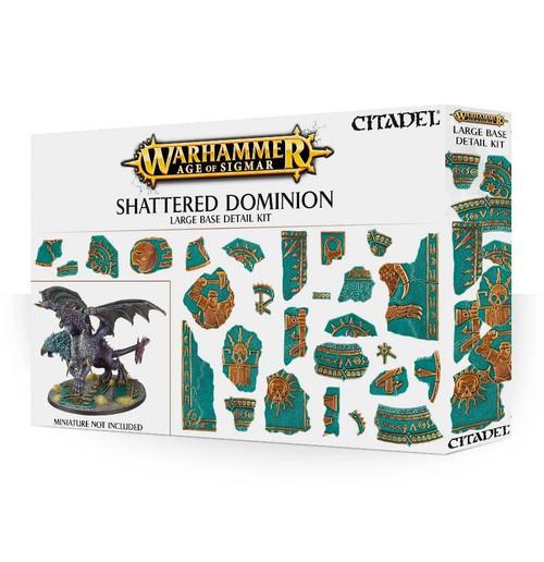 Warhammer Age of Sigmar Shattered Dominion Large Base Detail Kit