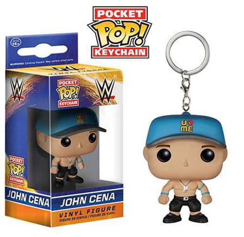 Funko WWE Wrestling Pocket POP! John Cena Keychain