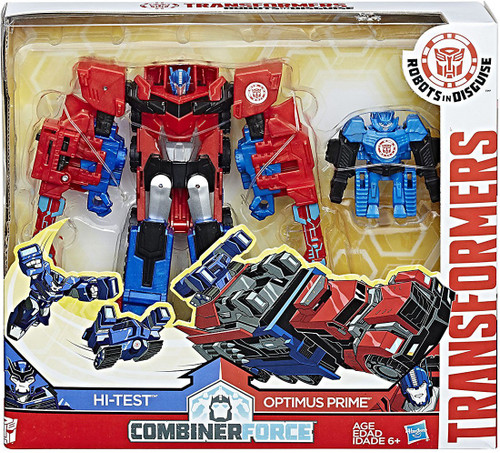 Transformers Robots in Disguise Activators Optimus Prime & Hi-Test Action Figure [Combiner Force]
