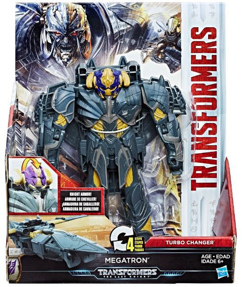 Transformers The Last Knight 2 Step Turbo Changer Megatron Action Figure