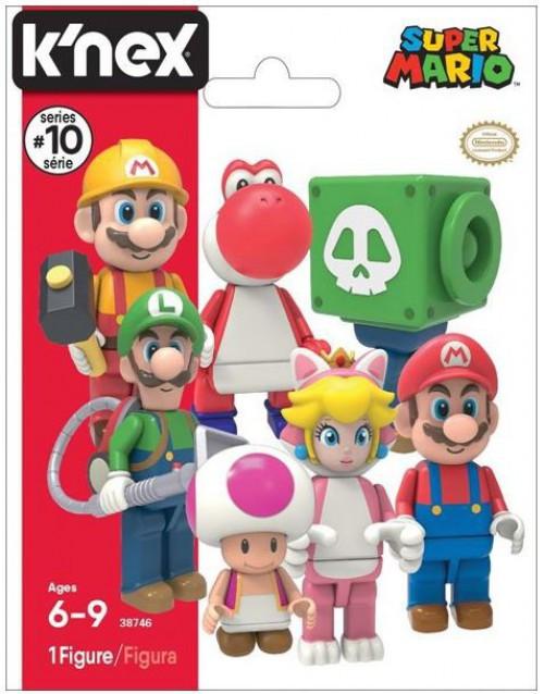 K'NEX Super Mario Series 10 Mystery Pack [1 RANDOM Figure]