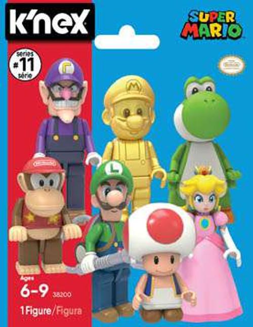 K'NEX Super Mario Series 11 Mystery Pack [1 RANDOM Figure]