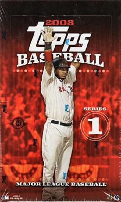 MLB Topps 2008 Series 1 Baseball Trading Card HOBBY Box [36 Packs]