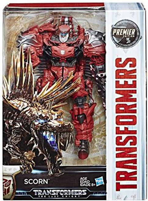 Transformers The Last Knight Scorn Voyager Action Figure