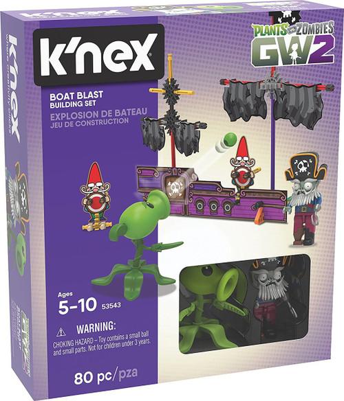 K'NEX Plants vs. Zombies GW2 Boat Blast Set #53543