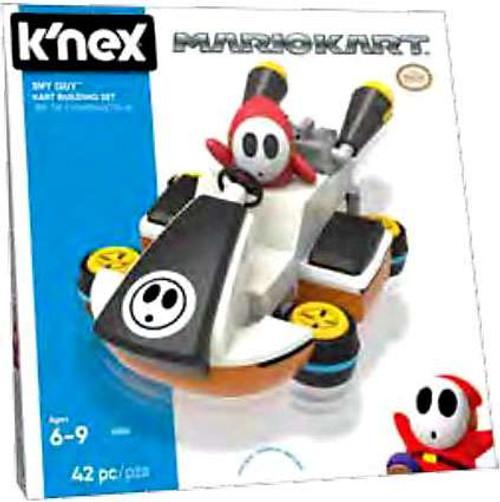 K'NEX Super Mario Mario Kart Shy Guy Kart Set #38820