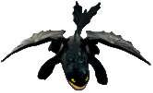 How to Train Your Dragon Night Fury Happy Meal Toy #7 [Toothless]