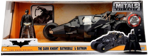 DC The Dark Knight Batmobile & Batman Diecast Vehicle