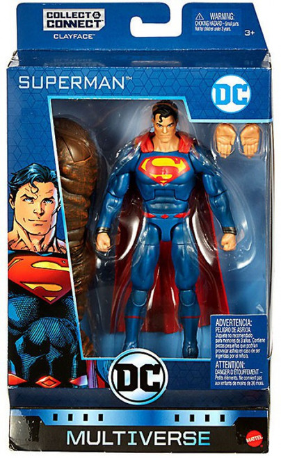DC Multiverse Clayface Series Superman Action Figure [Rebirth]