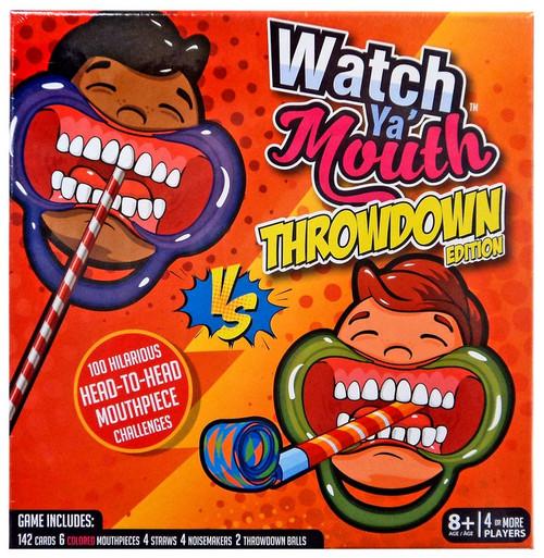 Watch Ya Mouth Throwdown Edition Board Game