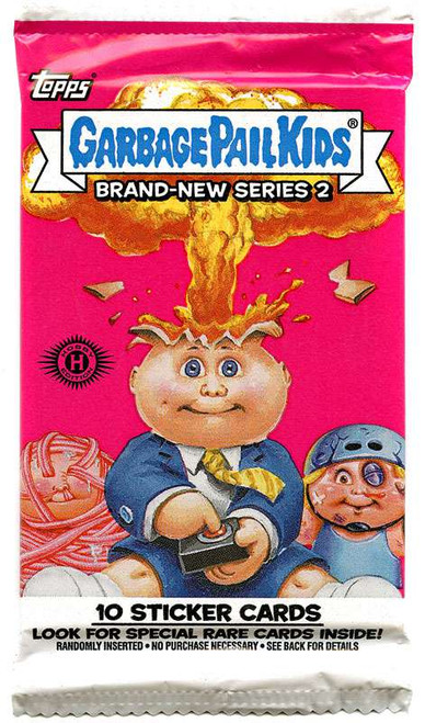 Garbage Pail Kids Topps 2012 Brand New Series 2 Trading Card Sticker Pack
