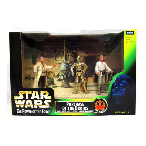 Star Wars Power of the Force Purchase of the Droids Action Figure Set