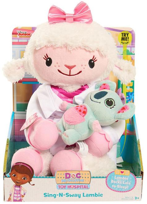 Disney Doc McStuffins Sing-N-Sway Lambie Plush Figure