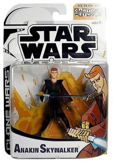 Star Wars The Clone Wars Cartoon Network Anakin Skywalker Action Figure [Damaged Package]