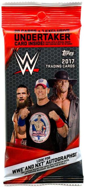 WWE Wrestling Topps WWE 2017 Trading Cards Value Pack