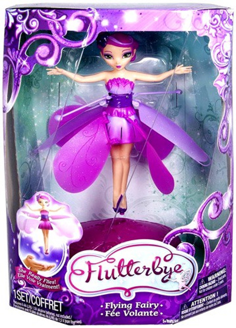 Flutterbye Flower Flying Fairy Doll [Caucasian]