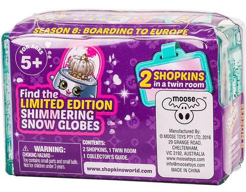 Shopkins Season 8 World Vacation Boarding for Europe Mini Figure 2-Pack